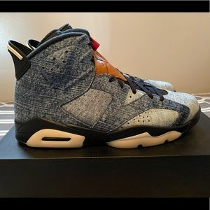 "JORDAN 6 RETRO ""DENIM"" **Sz 11**"